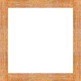 Fond en bois de cadre de Brown Photo stock