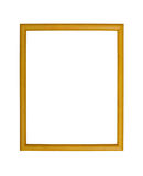 Fond en bois de cadre de photo Images stock