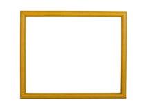 Fond en bois de cadre de photo Photo libre de droits