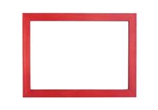 Fond en bois de cadre de photo Photo stock