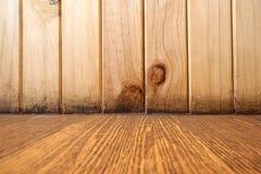 Fond en bois de configuration photos libres de droits