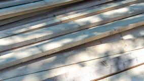 Fond en bois de conseils de bordage Images libres de droits