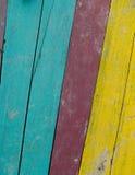 Fond en bois de corol Photos libres de droits