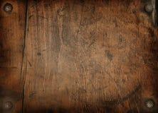 Fond en bois de cru Images libres de droits