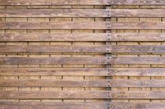 Fond en bois de frontière de sécurité Photo stock