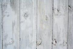 Fond en bois de grange blanche Image libre de droits