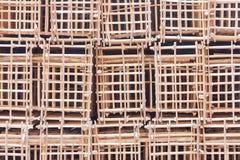Fond en bois de grille photographie stock libre de droits
