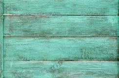 Fond en bois de grunge de texture de planches peint par bleu Photo libre de droits