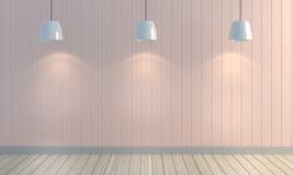 Fond en bois de mur de couleur en pastel Image libre de droits