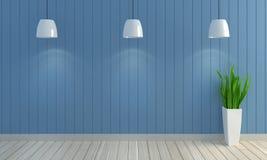 Fond en bois de mur de couleur en pastel Images stock