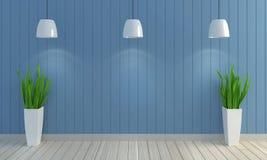 Fond en bois de mur de couleur en pastel Photos libres de droits