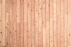 Fond en bois de mur de planche de Brown Images stock