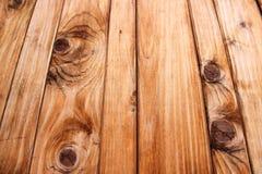 Fond en bois de panneau Images libres de droits