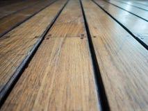Fond en bois de panneau de plancher Images stock