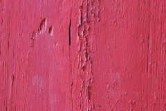 Fond en bois de peau de couleur simple rouge photo libre de droits