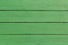 Fond en bois de peinture de vert de planche photos libres de droits