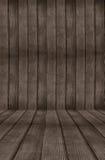 Fond en bois de pièce Photographie stock