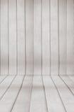 Fond en bois de pièce Photos libres de droits
