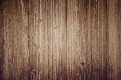 Fond en bois de planche, conseils verticaux bruns, texture en bois, vieille table et x28 ; plancher, wall& x29 ; , vintage Images stock
