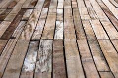 Fond en bois de plancher Photographie stock
