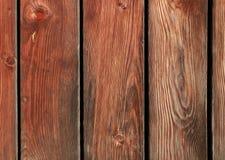 Fond en bois de planches de Brown Image libre de droits