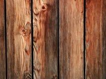 Fond en bois de planches de Brown Photographie stock