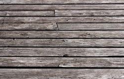 Fond en bois de plate-forme Photographie stock libre de droits