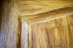 Fond en bois de porte Images libres de droits