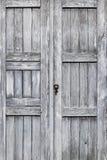 Fond en bois de porte images stock