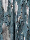 Fond en bois de Teal photos stock
