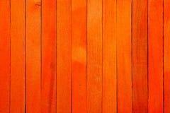 Fond en bois de texture de cloison de séparation de couleur orange approximative de cru photographie stock