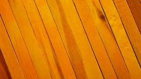 Fond en bois de texture de cloison de séparation de thème jaune approximatif photographie stock libre de droits