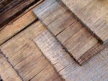 Fond en bois de texture de bois de charpente Images stock