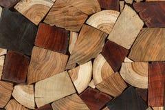 Fond en bois de texture de bois de construction Images libres de droits