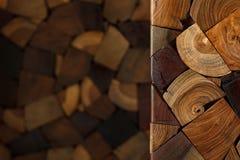 Fond en bois de texture de bois de construction avec l'espace Images libres de droits