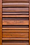 Fond en bois de texture de brun de planche Image libre de droits