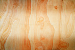 Fond en bois de texture de brun de planche avec le label des textes au centre Images libres de droits