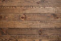 Fond en bois de texture de brun de planche, l'espace libre Images stock