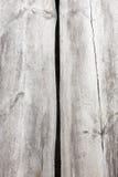Fond en bois de texture de deux grandes planches Photo libre de droits