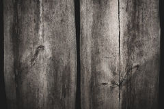 Fond en bois de texture de deux grandes planches Photographie stock