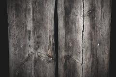 Fond en bois de texture de deux grandes planches Image stock