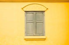 Fond en bois de texture de fenêtre Images libres de droits