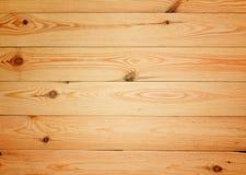 Fond en bois de texture de planches de grands planchers bruns Photographie stock