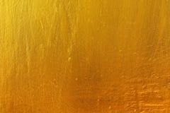 Fond en bois de texture de vintage d'or Photographie stock libre de droits