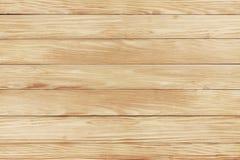Fond en bois de texture des panneaux naturels de pin Photos libres de droits
