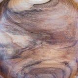 fond en bois de texture de noix dans la macro pousse de lentille photos stock