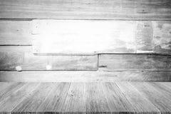 Fond en bois de texture, processus dans la couleur blanche avec le terra en bois Images libres de droits