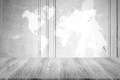 Fond en bois de texture, processus dans la couleur blanche avec le terra en bois Photographie stock