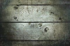 Fond en bois de texture Structure foncée de conseils en bois rétro Images libres de droits