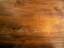 Fond en bois de texture de teck de Brown image stock